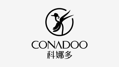 科娜多商貿公司LOGO設計
