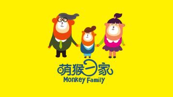 萌猴一家(吉祥物亚博客服电话多少)