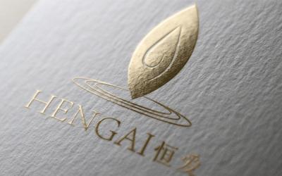 恒愛中藥科技品牌logo設計
