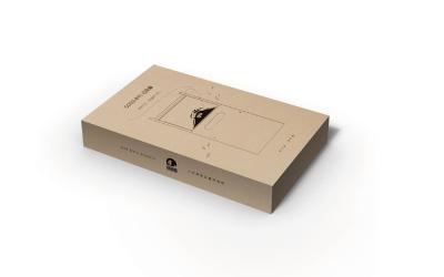 高端包装设计 手绘、牛皮纸包装设计