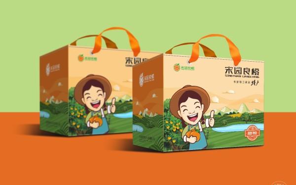 宋园良橙包装设计