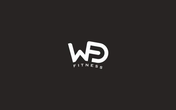 大王峰 DWF | 健身中心 logo设计