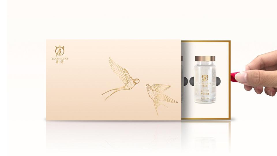 燕之冠食品品牌包装设计