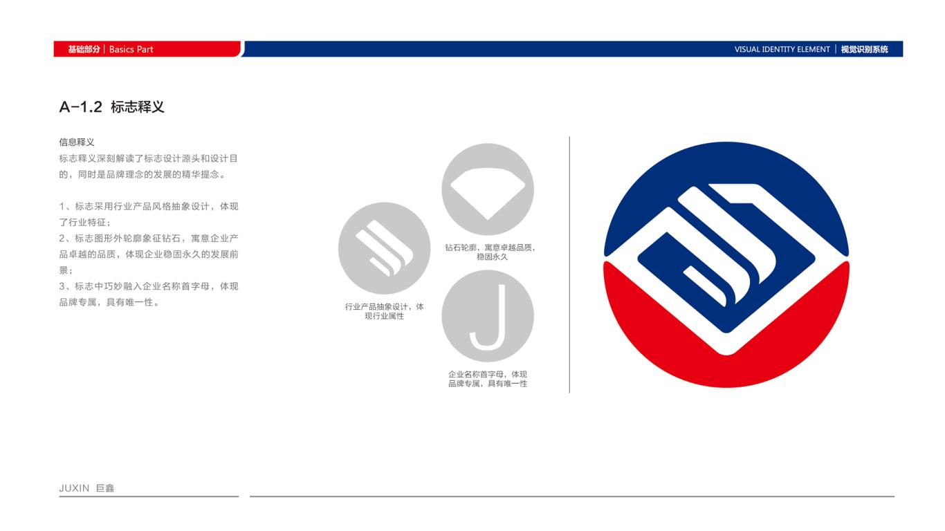 巨鑫VI设计中标图1