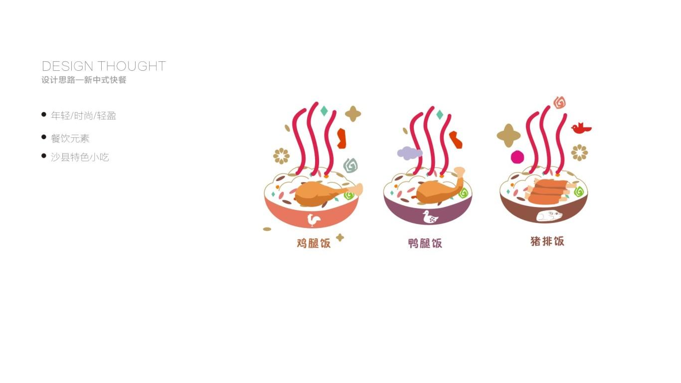 沙县小吃包装设计中标图0