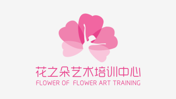 花之朵LOGO设计