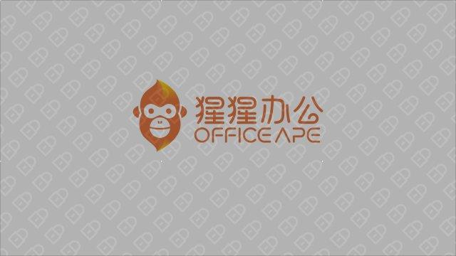 猩猩办公LOGO设计入围方案6