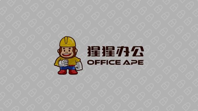 猩猩办公LOGO设计入围方案3