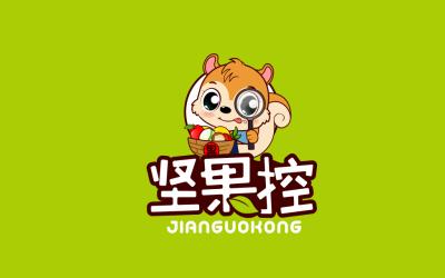 坚果控-坚果零食logo