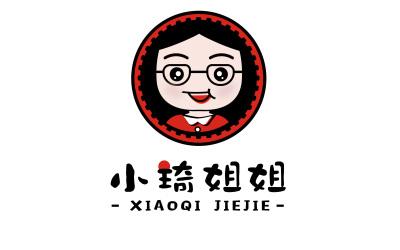 小琦姐姐丨果飲品牌LOGO設計