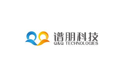 谱朋科技 logo设计