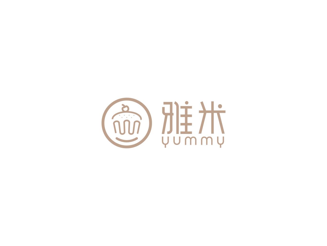 雅米logo设计图1