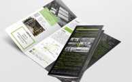 德尔物流工业园折页设计