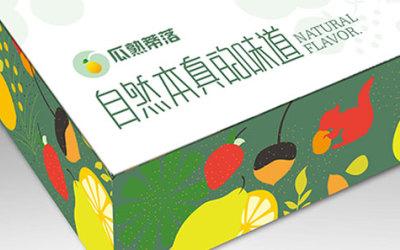 [北斗品牌设计]·瓜熟蒂落农产品品牌包...