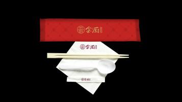 金廚湘菜館包裝設計