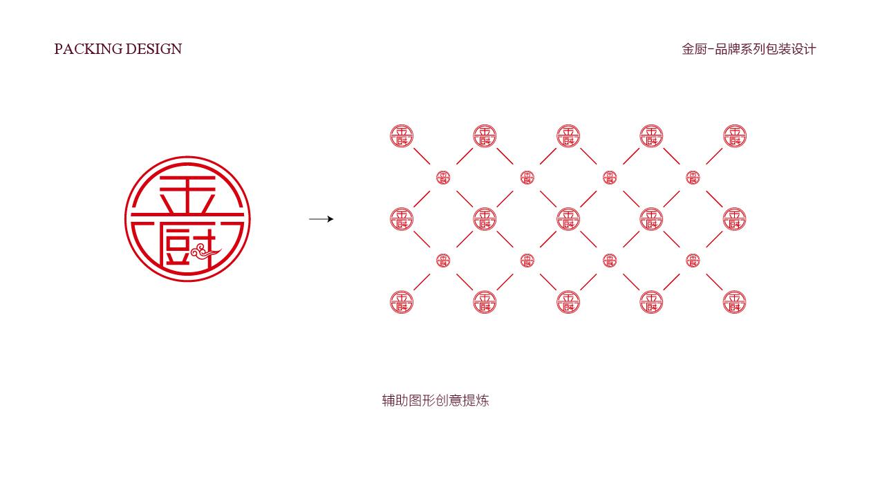 金厨湘菜馆包装设计中标图2