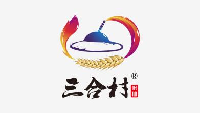 三合村LOGO設計