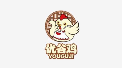 優谷雞LOGO設計