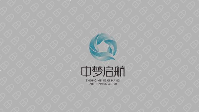 中梦启航艺术成长中心LOGO设计入围方案3