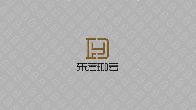 东芳珈芸LOGO设计入围方案1