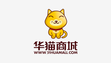 华猫商城吉祥物设计