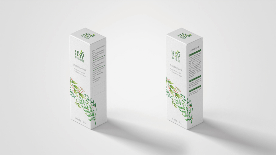 欣诗玥产品包装设计中标图1