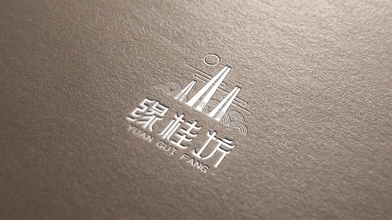 缘桂坊LOGO设计中标图3