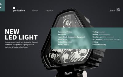 LED车用工作灯设计方案