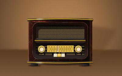 收音机写实图标