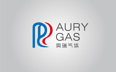 奥瑞气体AURY GAS标志l...