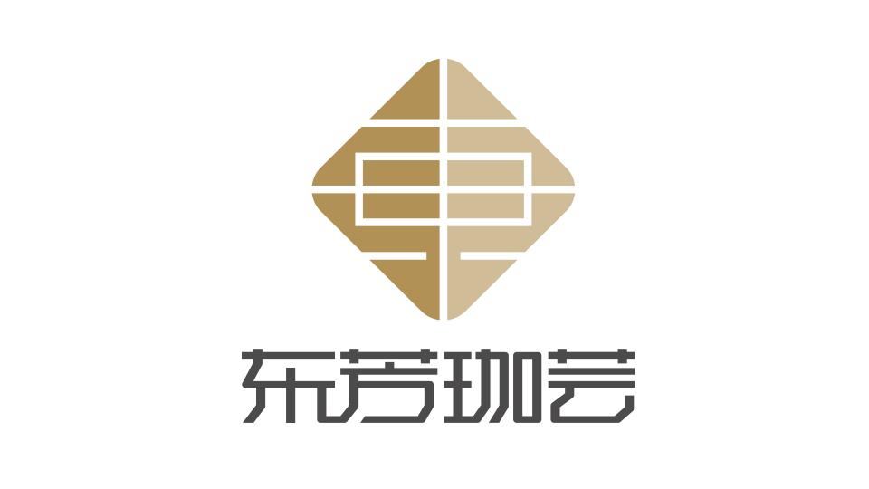 东芳珈芸LOGO设计