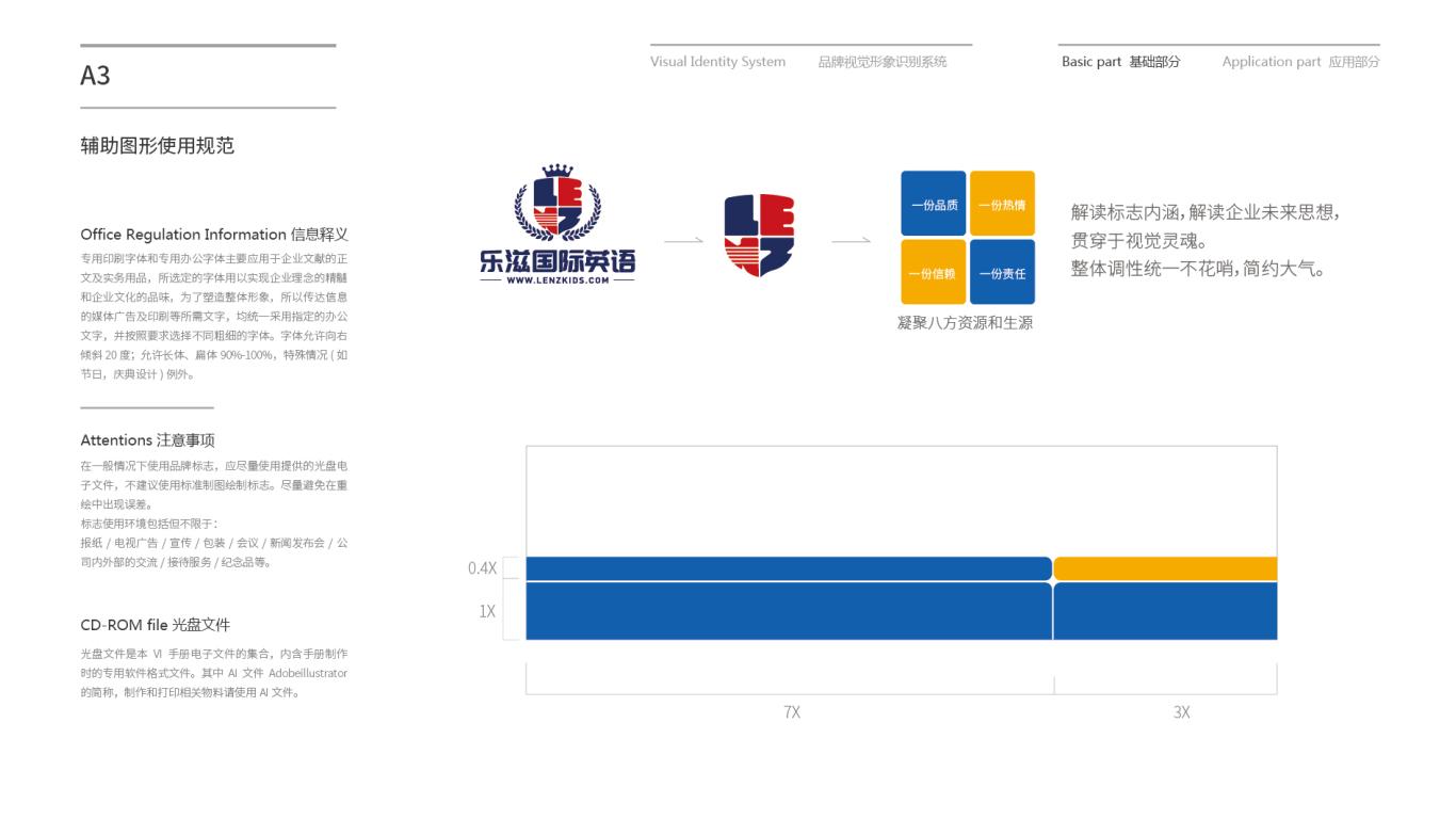 乐滋国际英语企业VI设计中标图5