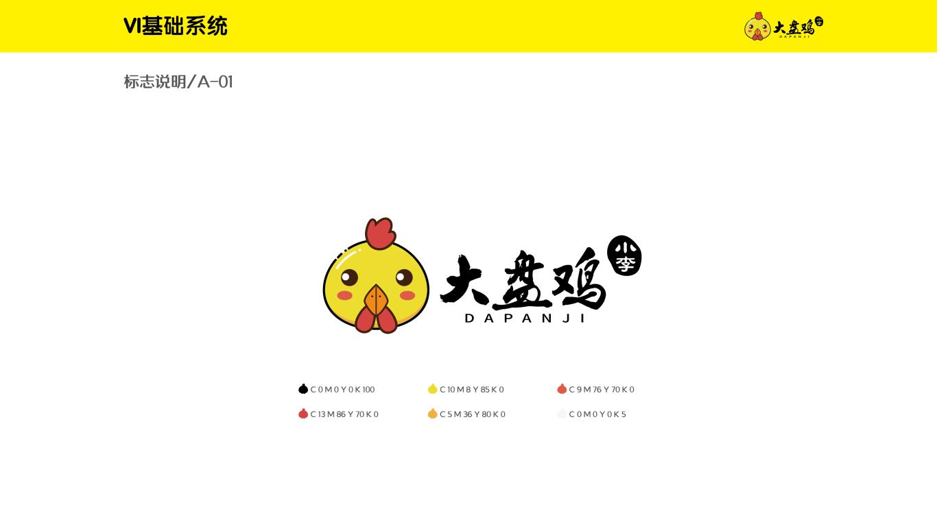 三少爷大盘鸡VI设计中标图0