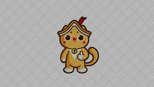 喵酱艺吉祥物设计入围方案1