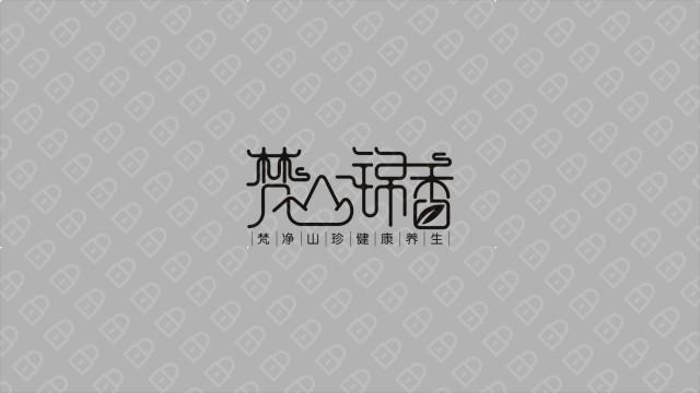 梵山锦香 LOGO设计入围方案1