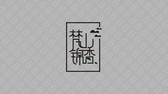 梵山锦香 LOGO设计入围方案0