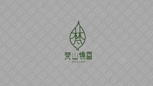 梵山锦香 LOGO设计入围方案3