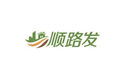 顺路发logo设计