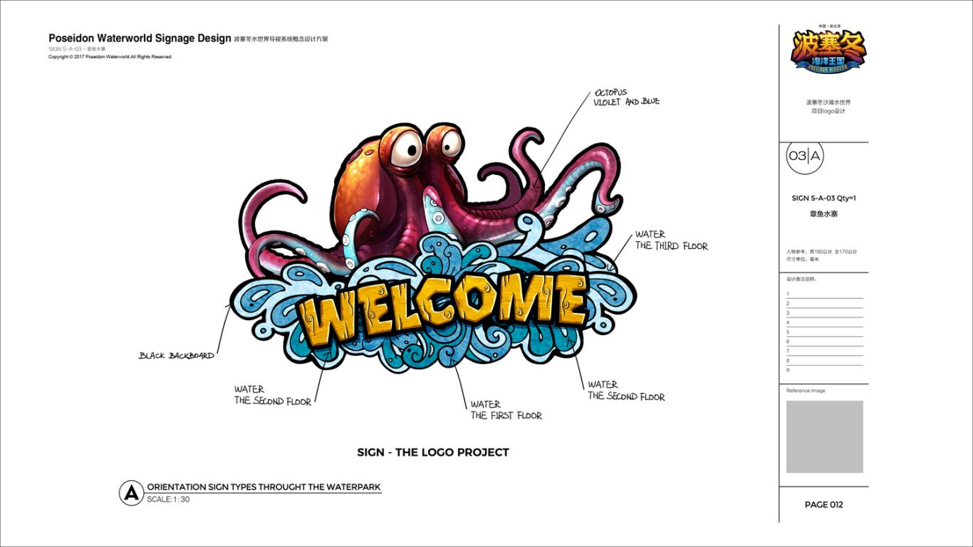 哈尔滨波塞冬水世界导视系统概念设计图15