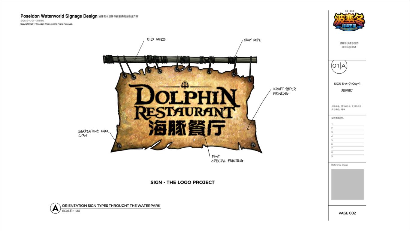 哈尔滨波塞冬水世界导视系统概念设计图5