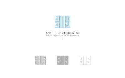 电子材料生产企业标志设计