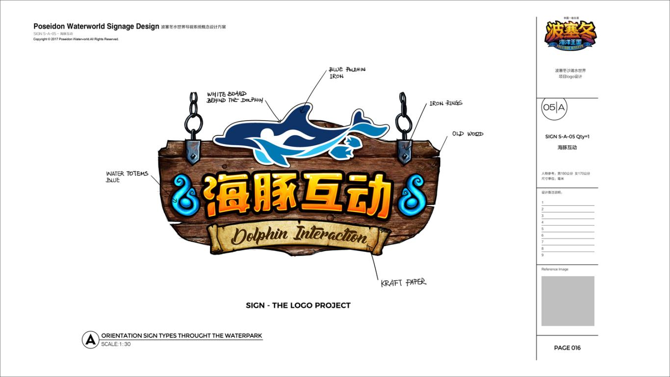 哈尔滨波塞冬水世界导视系统概念设计图19