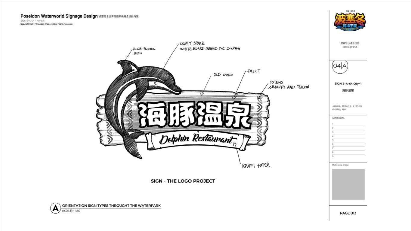 哈尔滨波塞冬水世界导视系统概念设计图16