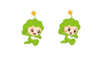 苔米幼兒園吉祥物設計