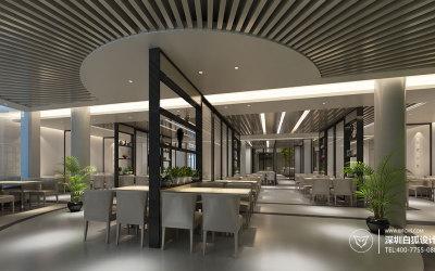 餐饮设计|简约创意餐厅设计|餐...