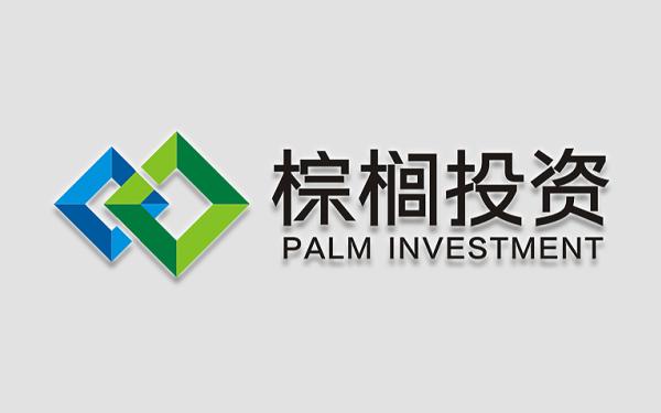 棕榈投资 logo设计、VI设计