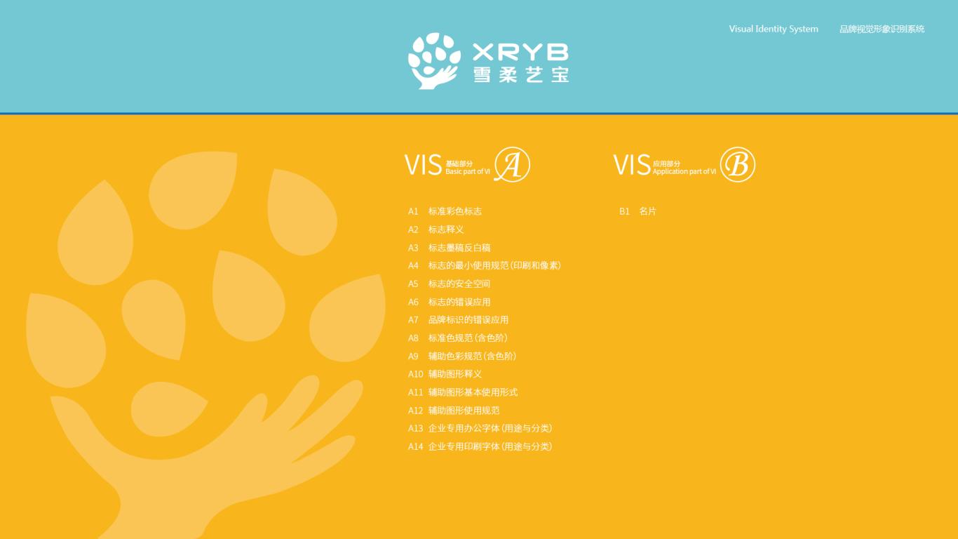 雪柔艺宝VI设计中标图1