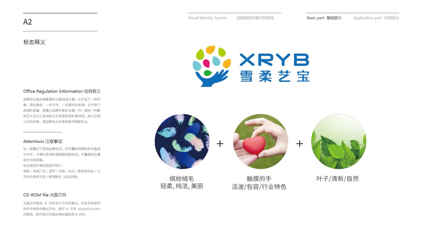 雪柔艺宝VI设计中标图3