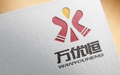 万优恒logo设计