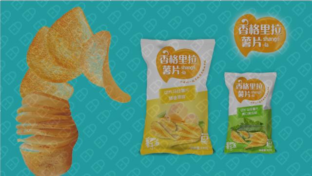 薯乐滋包装设计入围方案1